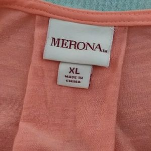 Merona Tops - Merona peach color blouse